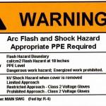 Arch Flash Warning